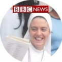 Noticia en la BBC: El primer aniversario de la Hna. Clare