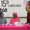 Vídeo para el 15º cumpleaños de Valeria